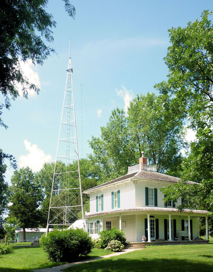 Ensor Farm House and Radio Tower