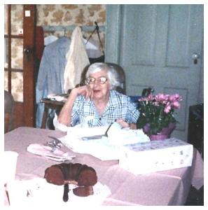 Loretta's 86th Birthday in 1990