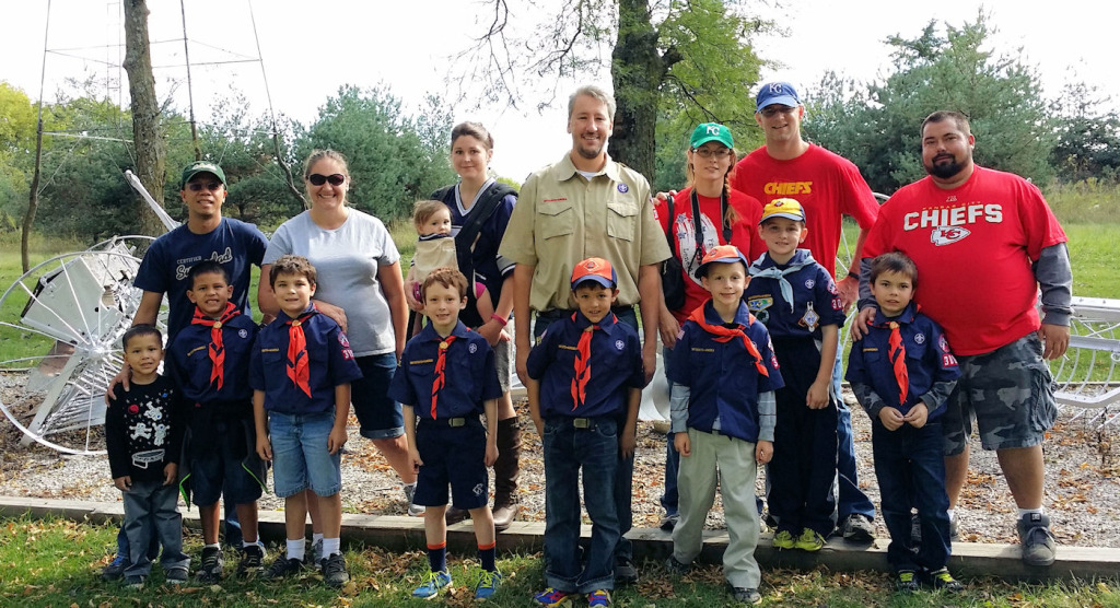 2014 - Cub Scouts from Pack 3068 in Olathe, KS visit the museum.