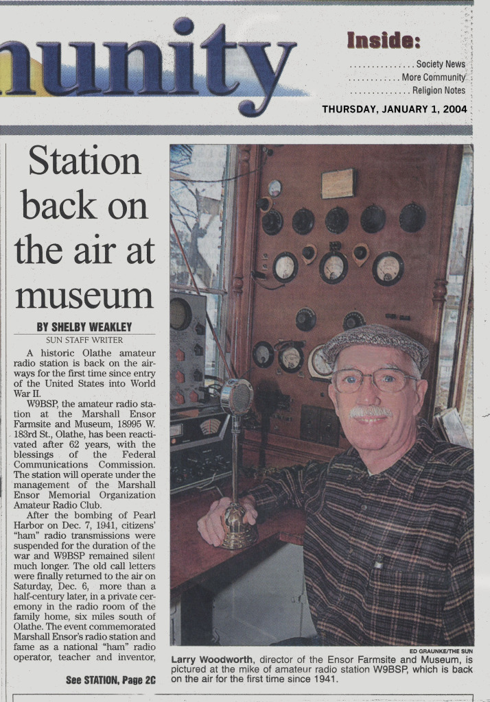 Station back on air at museum